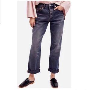 Free People Universal Boyfriend Jeans NWT